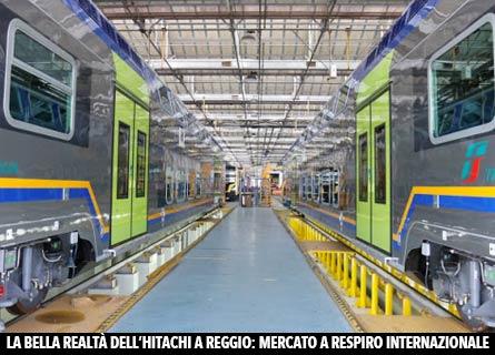 Hitachi Rail a Reggio Calabria