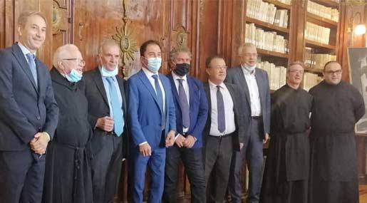 Visita della Presidenza del Consiglio regionale della Calabria al Santuario Regionale di S. Francesco di Paola