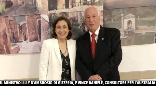 Vince Daniele e Ministro d'Ambrosio