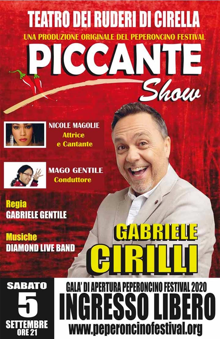 Piccante Show Cirilli
