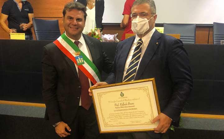 MENDICINO (CS) - Il prof. Raffaele Bruno è cittadino ...