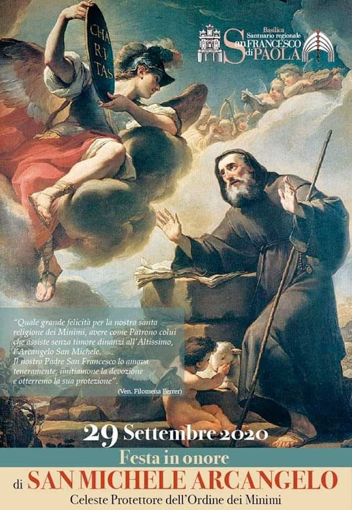 San Michele Arcangelo celebrazioni a Paola