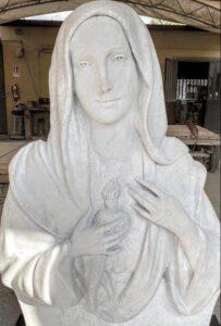 La Madonna delle Lacrime a Drapia