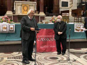 Cesare Catananti e mons. Francesco Milito