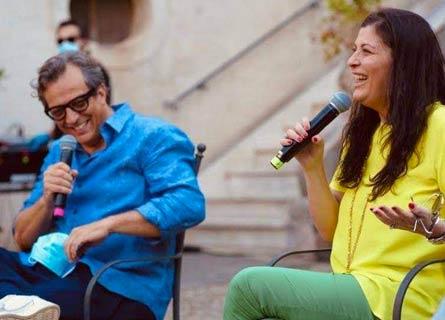 Gabriele Muccino e Jole Santelli