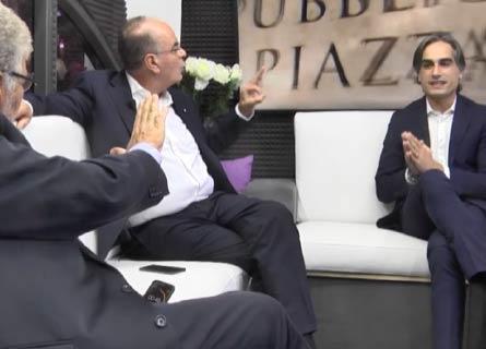 Pasquale Motta, Antonino Minicuci e Giuseppe Falcomatà