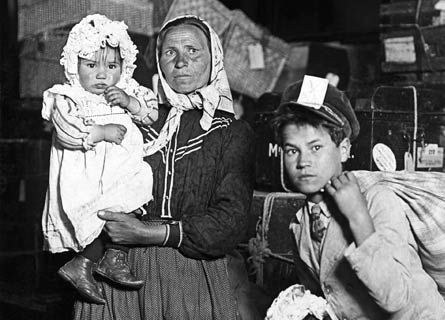 Emigrati italiani a Ellis Island