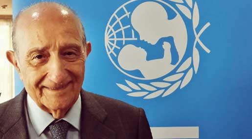 Al presidente Unicef Francesco Samengo la 'Civica Benemerenza' di Cassano allo Ionio