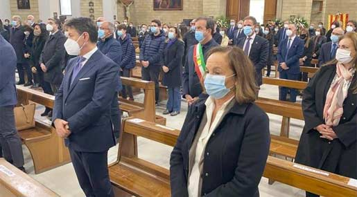 Santelli funerale