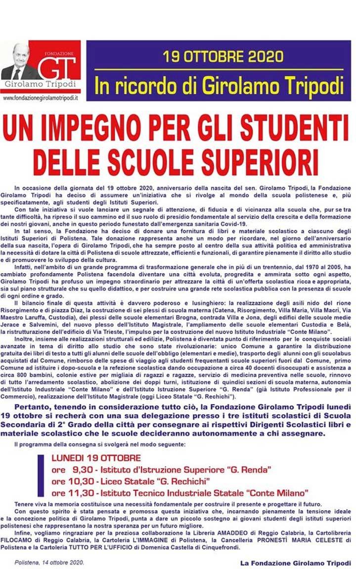 Fondazione Girolamo tripodi