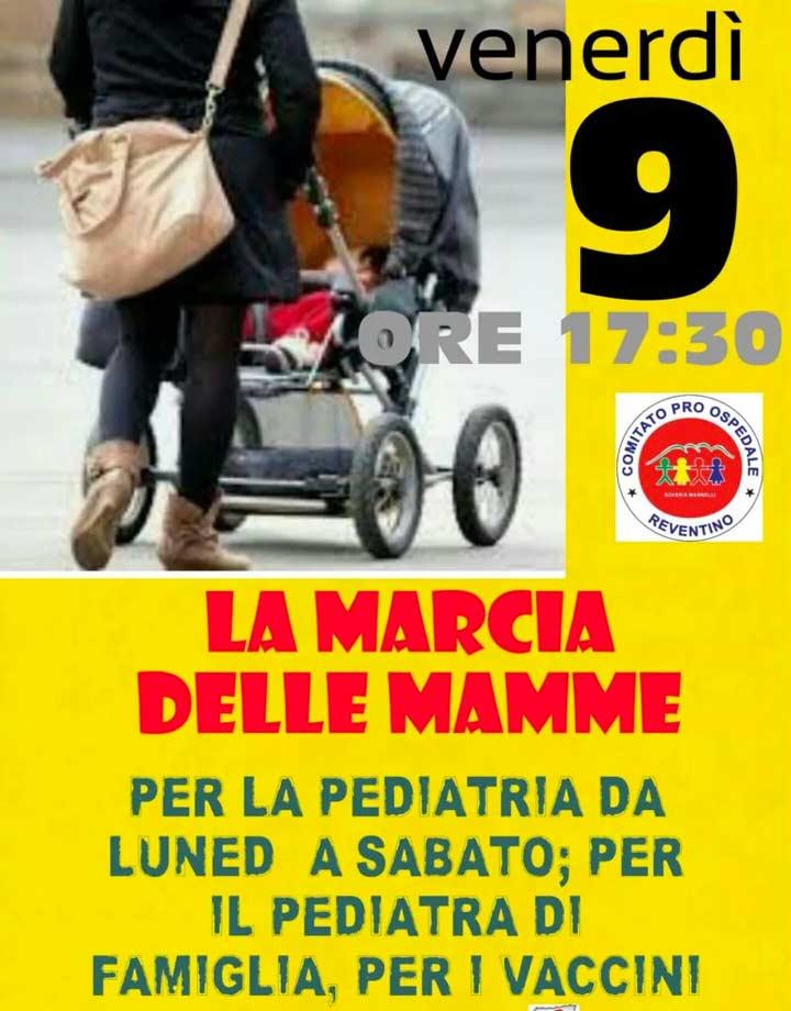 Marcia delle mamme a Soveria Mannelli