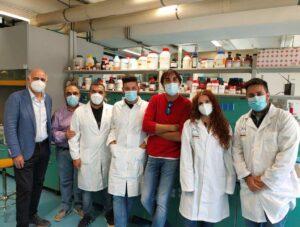 Il team di ricerca dell'Unical