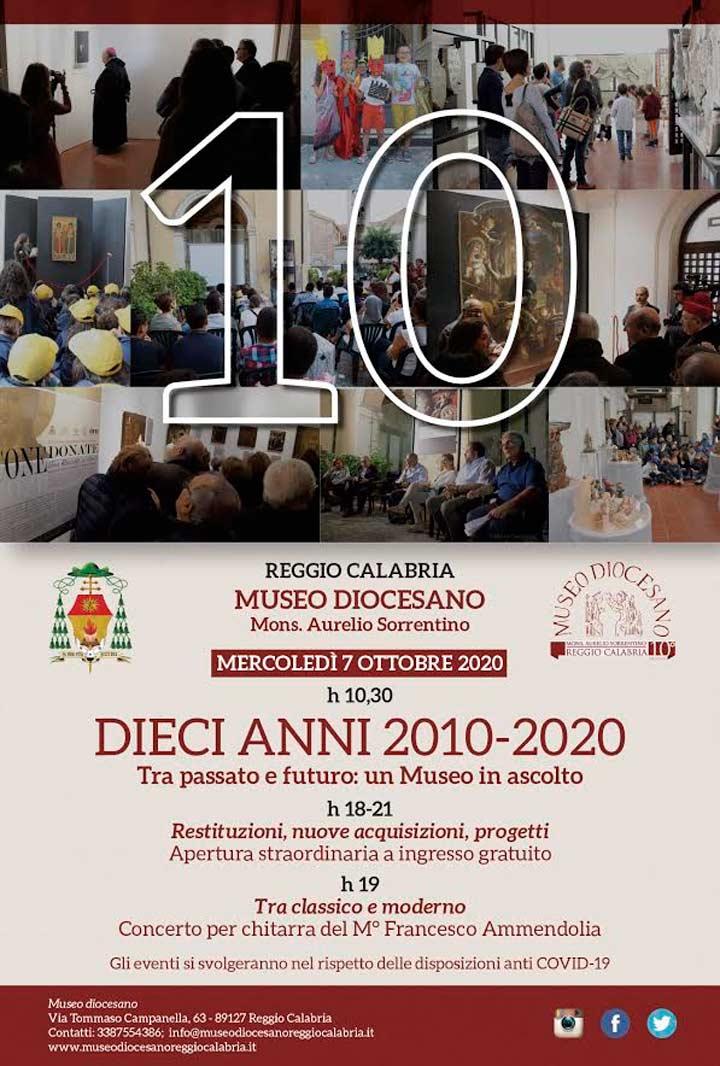 10 anni del Museo Diocesano di Reggio Calabria