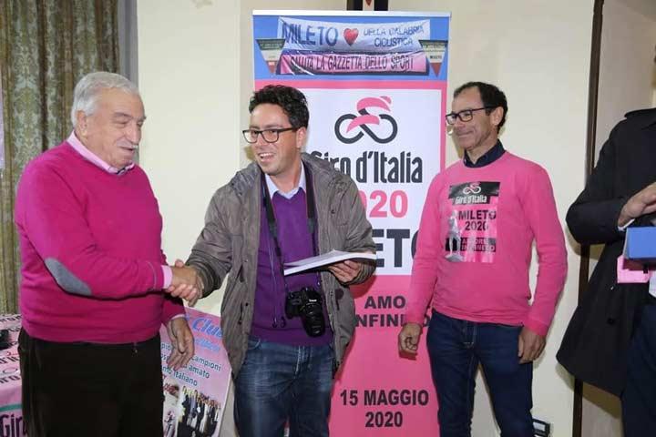Soveria Mannelli per il Giro d'Italia