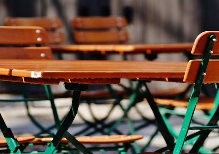 tavolini fuori