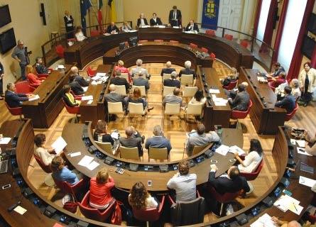La Commisisone Antimafia riunita a Palazzo San Macuto