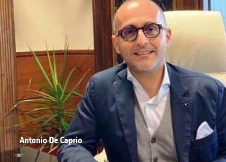 Antonio De Caprio, presidente Commisisone regionale Antimafia Calabria