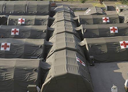 Ospedali da campo della Protezione civile