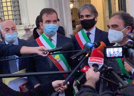 Mario Occhiuto, Giusepe Falcomatà e Sergio Abramo