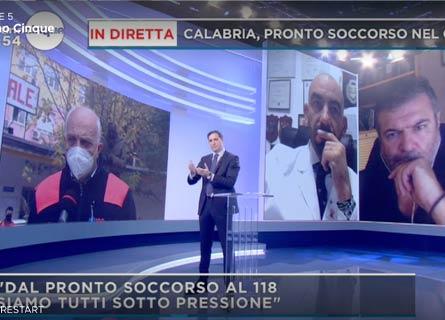Mattino 5 sulla sanità in Calabria