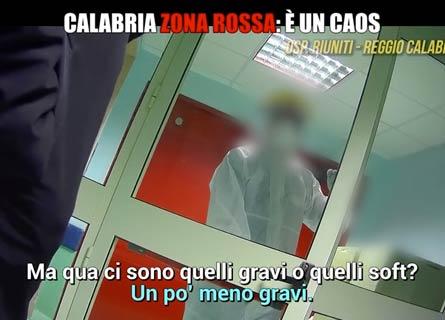 Un fotogramma del servizio de Le Iene su Italia 1