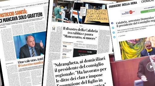 I media sulla Calabria