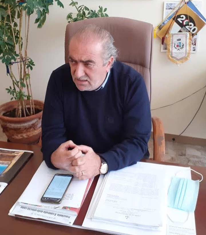 Angelo Capatano sindaco di Frascineto