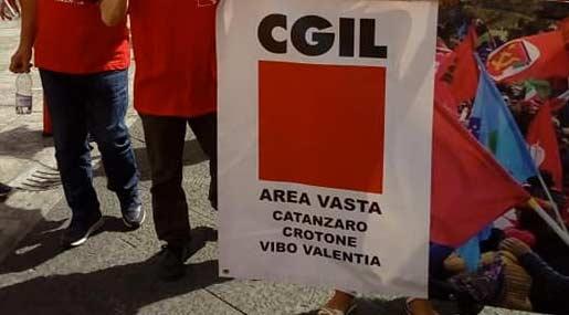 Cgil Area Vasta CZ, KR, VV