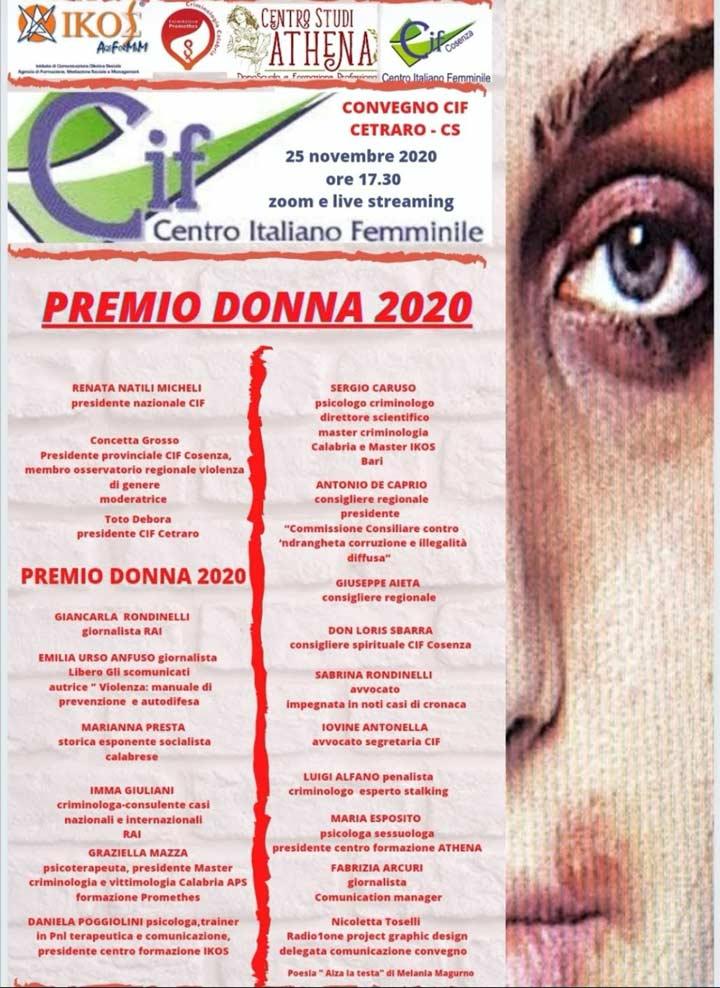 Premio Donna 2020