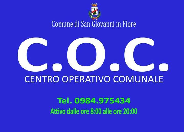 Centro Operativo comunale San Giovanni in fiore