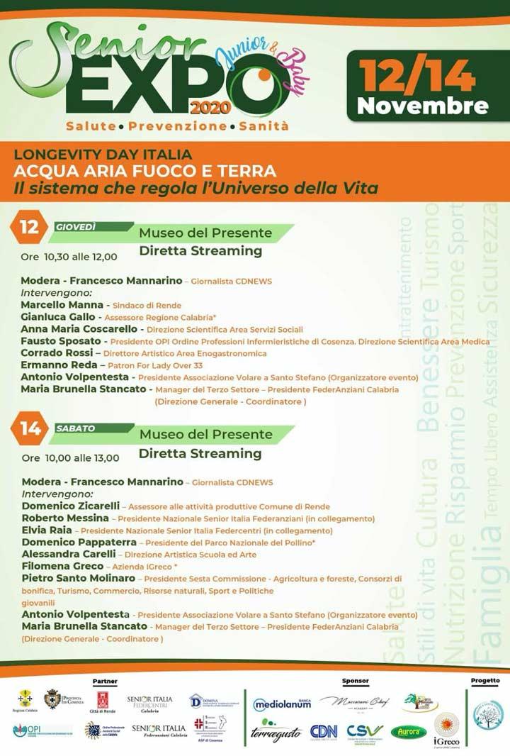 Senior Baby junior Expo Italia 2020
