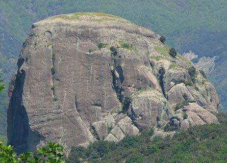 Pietra Cappa in Aspromonte