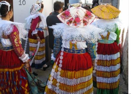 Costumi albanesi in Calabria