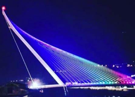 Il Ponte di Calatrava, nuovo simbolo di Cosenza