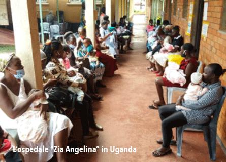 L'ospedale Zia Angelina in Uganda