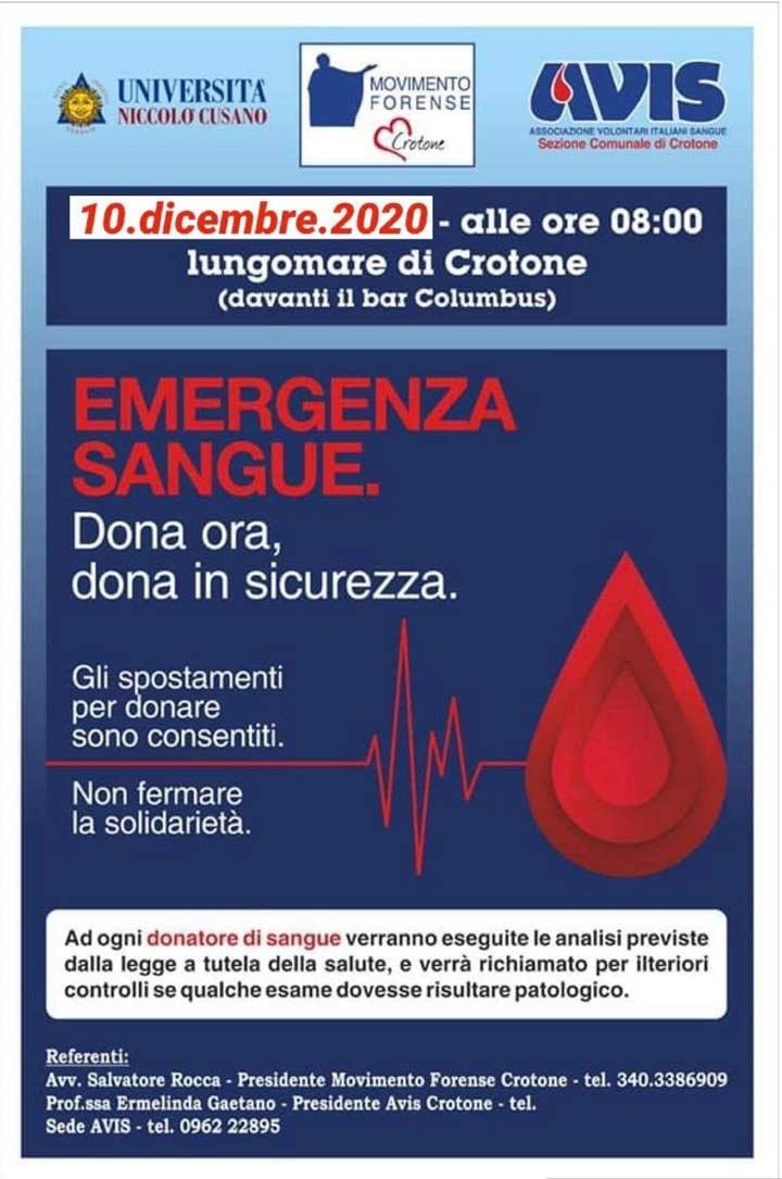 campagna sangue