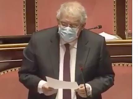 Ernesto Magorno in Senato