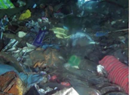 Tonnellate di rifiuti nei fondali dello Stretto di Messina