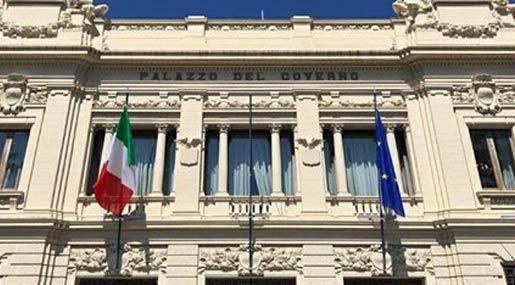 Il Palazzo della Prefettura di Reggio