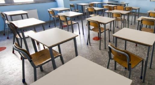 Aule scolastiche deserte