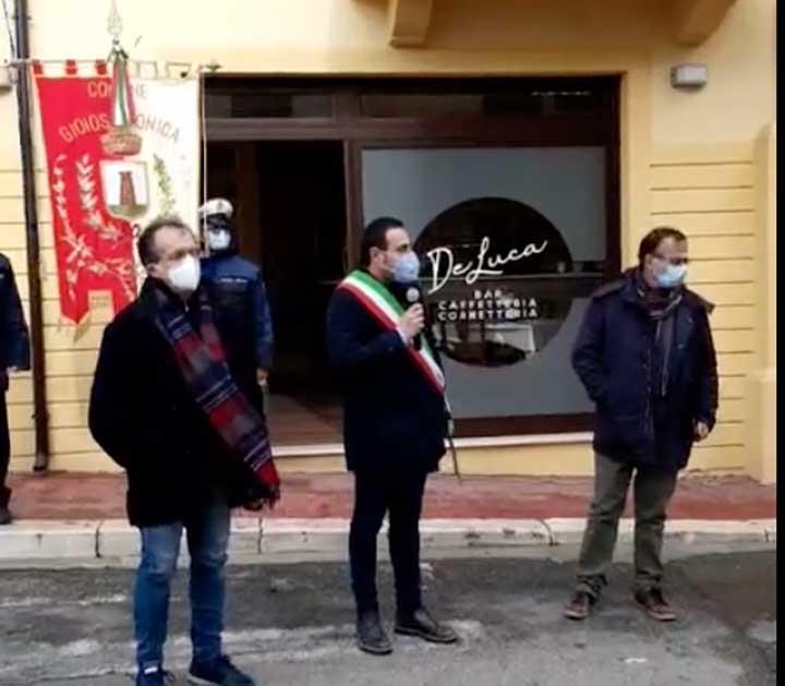 Inaugurazione Via F. Modafferi