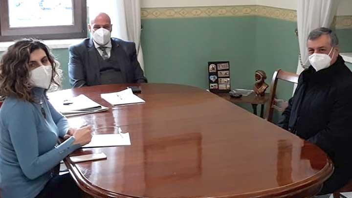 incontro con commissario Asp Kr Domenico Sperlì