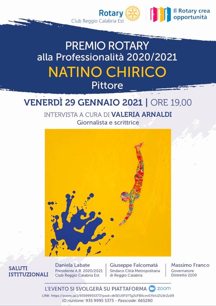 Chirico premio professionalità Rotary
