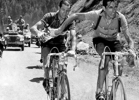 Gino Bartali e Fausto Coppi