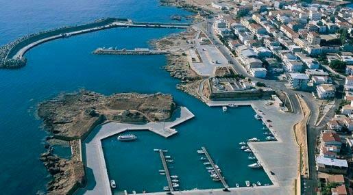 Porto regionale di Le Castella