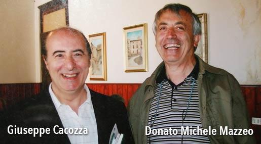 Giuseppe Cacozza e Donato Michele Mazzeo