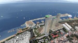 Il rendering del progetto Mediterranean Life