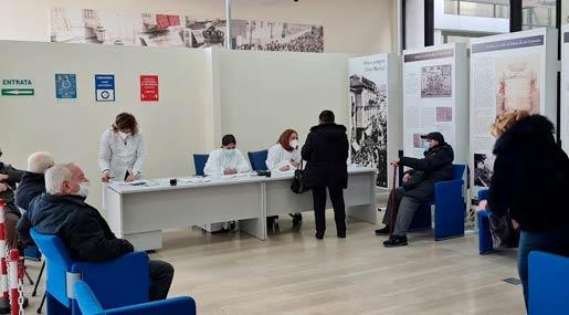 Palazzo Campanella punto vaccinale
