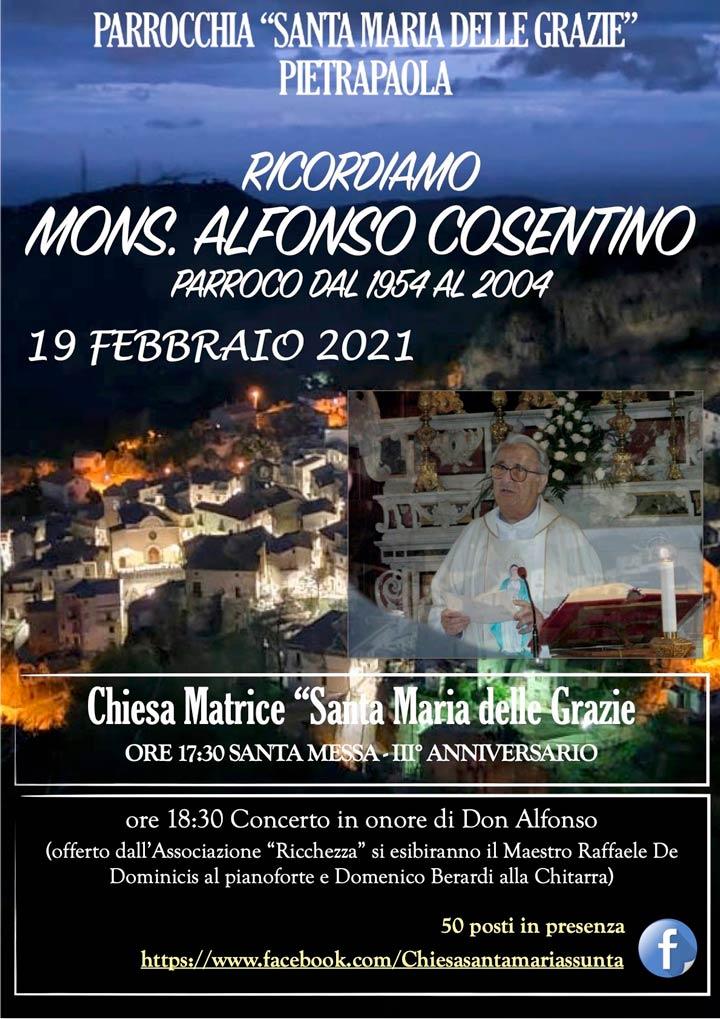Mons Alfonso Cosentino