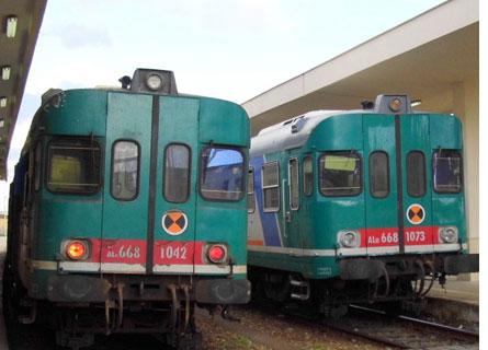Treni dei pendolari in Calabria